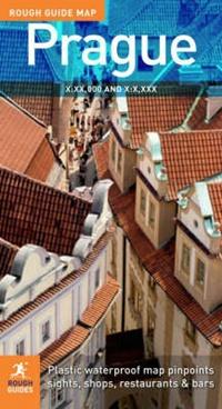 Rough Guide Map Prague