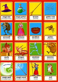 Memory. Английский для детей. Герои сказок