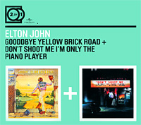 Элтон Джон Elton John. Goodbye Yellow Brick Road / Don't Shoot Me I'm Only The Piano Player (2 CD) спот marksojd