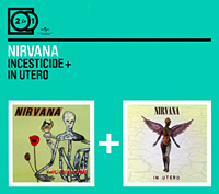 Nirvana Nirvana. Incesticide / In Utero (2 CD) nirvana nirvana hollywood rock festival 1993 2 lp