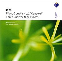 Чарльз Айвз Charles Ives. Sonata No. 2 Concord / Three Quarter-Tone Pieces spectral classics pl151 bg 2 boxes
