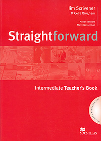 Straightforward: Intermediate Teacher's Book (+ 2 CD) times newspaper reading course of intermediate chinese 1 комплект из 2 книг