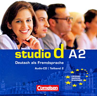 Studio d A2: Deutsch als Fremdsprache: Teilband 2 (аудиокурс на CD) ziel b2 deutsch als fremdsprache niveau b2 1 band 1 lection 1 8 аудиокурс на cd rom