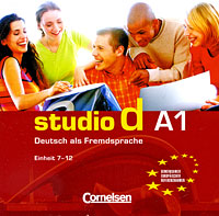 Studio d A1: Deutsch als Fremdsprache: Einheit 7-12 (аудиокурс на CD) ziel b2 deutsch als fremdsprache niveau b2 1 band 1 lection 1 8 аудиокурс на cd rom