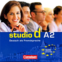 Studio d A2: Deutsch als Fremdsprache (аудиокурс на 2 CD) harman kardon onyx studio 2 black