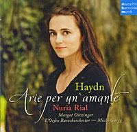 Нуриа Риал,Марго Ойтзингер,Мичи Гайгг,L'Orfeo Barockorchester Nuria Rial. Haydn. Arie Per Un'Amante