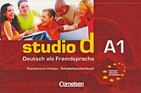Studio d A1: Vokabeltaschenbuch / Карманный словарь vocabulario elemental a1 a2 2cd