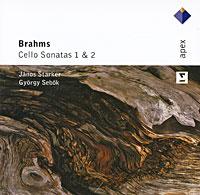 Янос Старкер,Георгий Сибок Janos Starker, Gyorgy Sebok. Brahms. Cello Sonatas 1 & 2 spectral classics pl151 bg 2 boxes