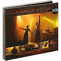 Klaus Schulze Feat. Lisa Gerrard. Dziekuje Bardzo - Vielen Dank (3 CD)