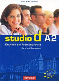 Studio d A2: Deutsch als Fremdsprache: Kurs- und Ubungsbuch (+ CD) muller m optimal a1 lehrbuch lehrwerk fur deutsch als fremdsprache