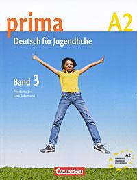Prima A2: Deutsch fur Jugendliche: Band 3 menschen a2 testtrainer mit cd