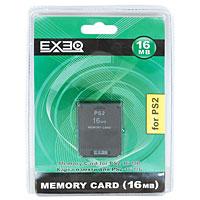 Карта памяти для PlayStation 2 EXEQ 16 МбEQ-PS2-16MBКарта памяти предназначена для использования только с игровой консолью PS2. Пожалуйста, помните, что данная карта не может использоваться с программным обеспечением формата PSX. При помощи карты памяти можно сохранять и загружать игровые данные. По своему усмотрению вы можете удалять эти данные или копировать на другую карту памяти.Внимание! Чтобы предотвратить потерю данных, избегайте многократного нажатия на консоли переключателя: MAIN POWER и кнопки RESET. Подробную инструкцию по использованию карты памяти смотрите в Руководстве по эксплуатации консоли PS2. Вместимость этого продукта ограничена. Если сохранение данных становится невозможным вследствие отсутствия свободного места, то удалите неиспользуемые данные или используйте новую карту памяти.