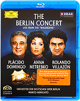 The Berlin Concert: Domingo / Netrebko / Villazon (Blu-ray) the berlin concert domingo netrebko villazon blu ray