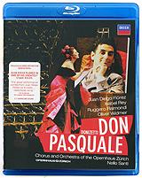Donizetti: Don Pasquale (Blu-ray) donizetti don pasquale blu ray