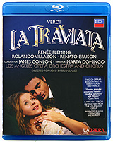 A lavish period production of Verdi's best-loved opera  featuring two of today's most celebrated stars -American soprano Renee Fleming and Mexican tenor Rolando Villazon. The tragic love-story of the courtesan Violetta and her young admirer Alfredo Germont is set to some of the most popular music in all opera, including the irresistible Bhndisi (drinking song) and Violetta's thrilling Act One finale