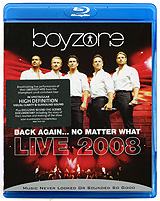 Boyzone - Back Again...No Matter What: Live 2008 (Blu-ray) mosunx simplestone live the life you love stand back case cover skin for ipad pro 12 9 tablet 60305