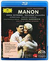 Anna Netrebko & Rolando Villazon - Manon (Blu-ray) anna netrebko live from the salzburg festival 3 blu ray