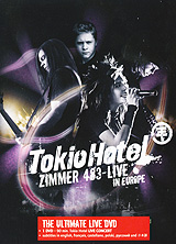 Tokio Hotel - Zimmer 483: Live In Europe hans zimmer hans zimmer live in prague 4 lp