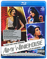 Amy Winehouse: I Told You I Was Trouble. Live In London (Blu-ray) cicero sings sinatra live in hamburg blu ray