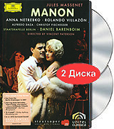 Anna Netrebko & Rolando Villazon - Manon (2 DVD) the berlin concert domingo netrebko villazon blu ray