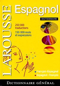Dictionnaire francais-espagnol / espagnol-francais les mots