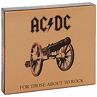 AC/DC AC/DC. For Those About To Rock (We Salute You) ac dc ac dc let there be rock lp