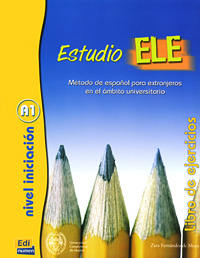 Estudio Ele: Libro de ejercicios: A1 vocabulario elemental a1 a2 2cd
