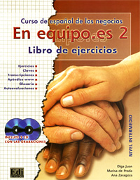 En equipo.es 2: Curso de espanol de los negocios: Libro de ejercicios: Nivel intermedio (+ 2 CD) giraffe 3d wall stickers living room decoration