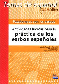 Pasatiempos con los verbos: Actividades ludicas para la practica de los verbos espanoles silla de director plegable de madera con bolsas para maquillaje pelicula studio hw46460