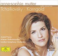 Anne-Sophie Mutter. Tchaikovsky / Korngold. Violin Concertos (SACD) anne sophie mutter lambert orkis brahms the violin sonatas