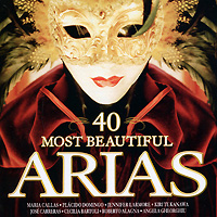 40 Most Beautiful Arias (2 CD) spectral classics pl151 bg 2 boxes