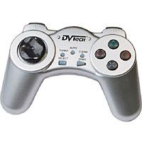 Джойстик PC DVTech JS19 Gear (серебро)JS 19Особенности продукта:Интерфейс USB, поддержка стандарта 1.1/2.0, plug and play.Совместимость с операционными системами Windows 98/Me/2000/XP/Vista.Цифровой контроллер.Поддержка DirectX 7.0 и выше.Кнопки выбора турбо-режима (Turbo) и режима замедления (Slow).Поддержка multi-player.Компактные размеры.Комфортный дизайн для активной игры.Системные требования:Windows 9x/Me/2000/XP/Vista;Pentium 166 МГц;32 Мб оперативной памяти;USB-порт;Устройство для чтения компакт-дисков;Клавиатура;Мышь.