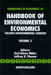 Handbook of Environmental Economics, Volume 2: Valuing Environmental Changes edited by ronald w jones peter b kenen handbook of international economics volume 2 international monetary economics and finance