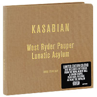Kasabian Kasabian. West Ryder Pauper Lunatic Asylum. Limited Edition (CD + DVD) evanescence – synthesis deluxe edition cd dvd