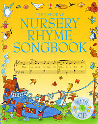 The Usborne Nursery Rhyme Songbook (+ CD) free shipping hot commercial summer water game inflatable water slide with pool for kids or adult