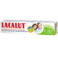 Детская зубная паста Lacalut Kids, 50 мл20021705_салатовыйДетская зубная паста Lacalut Kids разработана специально с учетом специфики стоматологического статуса при смене молочных зубов на постоянные. Низкообразивные микрочастицы мягко удаляют бактериальный налет, предупреждая развитие кариеса и заболевание десен. Аминофторид (олафлур) укрепляет формирующуюся эмаль, ускоряет ее минеральное созревание и повышает устойчивость к воздействию кислот, чем достигается значительное снижение риска возниковения кариеса как молочных, так и постоянных зубов. Появление крепких здоровых постоянных зубов у ребенка является лучшим подтверждением профессионального подхода к гигиене полости рта, характерного для Lacalut. Характеристики: Объем: 50 мл. Рекомендуемый возраст: 4-8 лет. Производитель: Германия. Товар сертифицирован. Свою историю стоматологическая торговая марка Lacalut ведет с начала 20-х годов XX века. Высочайшее качество и эффективность обеспечили ей признание у специалистов и популярность у потребителей более 50 стран мира, и по праву считается лидером среди лечебно-профилактических средств гигиены полости рта.Сегодня Торговая марка Lacalut включает в себя целую гамму средств - зубные пасты, ополаскиватели, зубные щетки, зубные нити (флоссы), а также средства для зубных протезов. Таким образом, с помощью торговой марки Lacalut возможно комплексное решение любой проблемы в полости рта как у взрослых, так и у детей. Название Lacalut происходит от главного активного вещества – лактат алюминия.Лактат алюминия – это соль молочной кислоты, которая обладает ярко выраженным вяжущим и противовоспалительным действиями. Благодаря своему уникальному действию, Lacalut рекомендуется в первую очередь людям, страдающим воспалительными заболеваниями пародонта и полости рта, кровоточивостью десен, а также для защиты от кариеса и гиперчувствительности зубной эмали, в том числе на фоне воспаления тканей пародонта. Lacalut - самый компетентный уход за зубами!