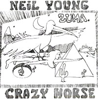 Нил Янг,Crazy Horse Neil Young & Crazy Horse. Zuma (LP) retro lady shoulder bag handbag genuine leather handbag western style package version of crazy horse leather bags
