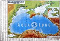 Карта затонувших объектов в Черном и Азовском морях (1941-1947 гг.)