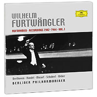 Вильгельм Фуртвенглер,Эрих Рон,Berliner Philharmoniker Wilhelm Furtwangler. Recordings 1942-1944. Vol. 1 (4 CD) symphonie weber obe