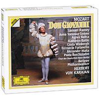 цена Герберт Караян,Berliner Philharmoniker Herbert Von Karajan. Mozart. Don Giovanni (3 CD)