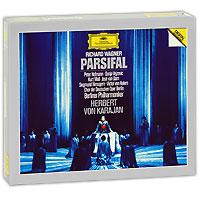 Герберт Караян,Berliner Philharmoniker Herbert Von Karajan. Wagner. Parsifal (4 CD) horst stein bayreuth festival r wagner parsifal highlights