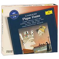 Мстислав Ростропович,Orchestre National De France Mstislav Rostropovich. Tchaikovsky. Pique Dame (3 CD) tchaikovsky valery gergiev pique dame
