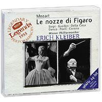 Эрик Клейбер,Wiener Staatsopernchor,Wiener Philharmoniker Erich Kleiber. Mozart. Le Nozze Di Figaro (3 CD) nikolaus harnoncourt mozart le nozze di figaro highlights