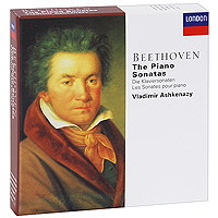Владимир Ашкенази Vladimir Ashkenazy. Beethoven. The Piano Sonatas (10 CD) piano sonatas cd