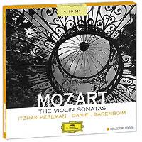 Дэниэл Баренбойм,Ицхак Перлман Daniel Barenboim, Itzhak Perlman. Mozart. The Violin Sonatas. Collectors Edition (4 CD)