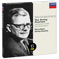 Fitzwilliam String Quartet Fitzwilliam String Quartet. Shostakovich. The String Quartets (6 CD) антонин дворжак antonin dvorak vlach quartet string quartet in g major op 106 lp