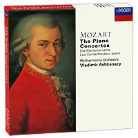 Владимир Ашкенази,Philharmonia Orchestra Vladimir Ashkenazy. Mozart. The Piano Concertos (10 CD) cd the piano guys uncharted