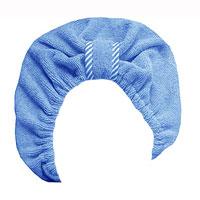 Чалма для сушки волос Главбаня, цвет: голубойБ90Чалма Главбаня выполнена из полиэстера и полиамида. Обеспечивает щадящую и комфортную сушку волоспосле мытья, держится и выглядит лучше обычного полотенца. Чалма также может использоваться при нанесениимакияжа и косметических процедурах, для защиты волос в сауне. Прекрасно впитывает влагу и подходит дляволос любой длины. Чалма Главбаня пригодится вам не только дома, но и в поездке, на даче, после занятий спортом. Максимальный обхват головы: 68 см.