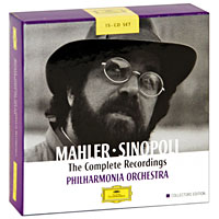 Джузеппе Синополи,Philharmonia Orchestra Giuseppe Sinopoli. Mahler. The Complete Recordings. Collectors Edition (15 CD) led zeppelin the complete story whole lotta love special collectors edition