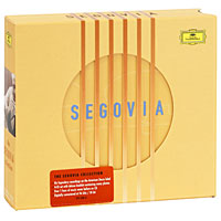 Андре Сеговия The Segovia Collection (4 CD) cd billie holiday the centennial collection